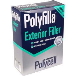 Polycell Trade Polycell Trade Polyfilla Exterior Filler 2kg - 72085 - from Toolstation