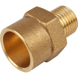 End Feed Coupler Male 15mm x 1/4""