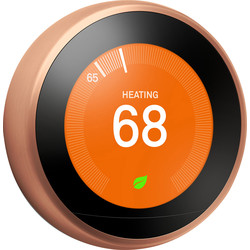 Google Nest Nest Learning Thermostat Copper T3031EX - 72147 - from Toolstation