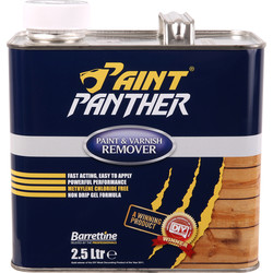 Barrettine Paint Panther Paint & Varnish Remover 2.5L - 72191 - from Toolstation