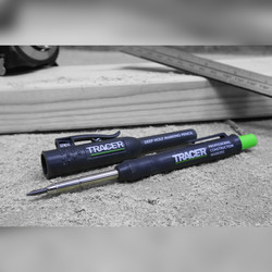 Tracer Deep Hole Marker Pen, Pencil & Lead set with Holsters