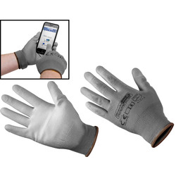 Smart Touch Palm Gloves Large