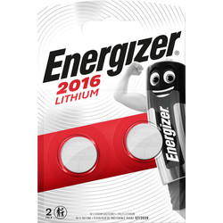 Energizer Energizer Lithium CR2016 FSB2 # 2016 - 72257 - from Toolstation
