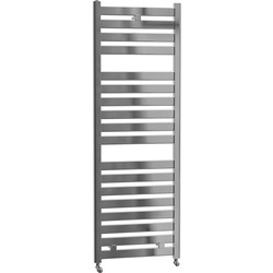 Cassellie Fewston Straight Designer Radiator 1420 x 500mm Chrome 1594Btu - 72287 - from Toolstation