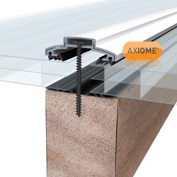 Axiome 16mm Polycarbonate Clear Triplewall Sheet