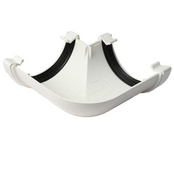 112mm Half Round Gutter Angle