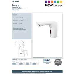 Deva SENSOR7/D Mono Basin Sensor Tap