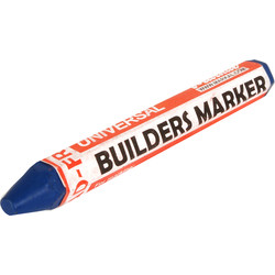 Markal Markal Builders Marker Blue - 72447 - from Toolstation