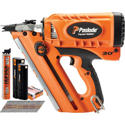Paslode Paslode IM350+ Li-Ion Cordless Nailer Bundle Pack 2 x 2.1Ah - 72471 - from Toolstation