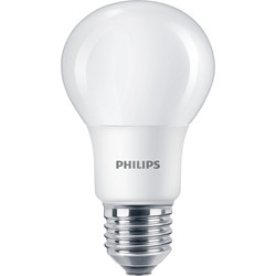 Philips Philips LED A Shape Lamp 8W ES (E27) 806lm - 72574 - from Toolstation