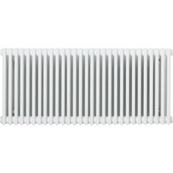 Arlberg Arlberg 2 Column Horizontal Radiator 600 x 1360mm 4495Btu White - 72585 - from Toolstation