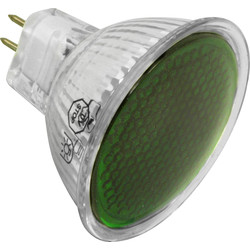 MR16 50W Pro Colour Lamp Green - 72641 - from Toolstation