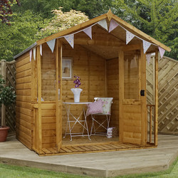 Mercia Mercia Traditional Summerhouse 7' x 7' - 72643 - from Toolstation
