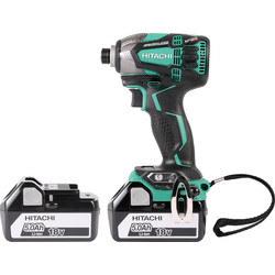 Hikoki Hikoki WH18DBDL2 18V Li-Ion Cordless Brushless Impact Driver 2 x 5.0Ah - 72792 - from Toolstation