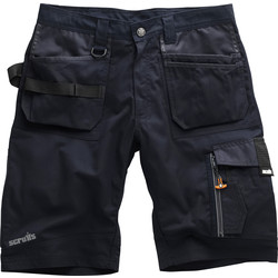 "Scruffs Scruffs Trade Shorts 28"" Ink Blue - 72843 - from Toolstation"