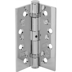 Unbranded Grade 13 Ball Bearing Fire Door Hinge Polished Finish - 72860 - from Toolstation