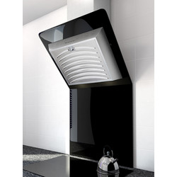 Culina 60cm Angled Glass Extractor Hood With Splashback