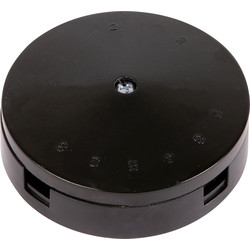 Axiom Junction Box 20A 4 Terminal Black
