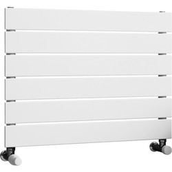 Ximax Ximax Oxford Single Horizontal Designer Radiator 445 x 600mm 1058Btu White - 73154 - from Toolstation
