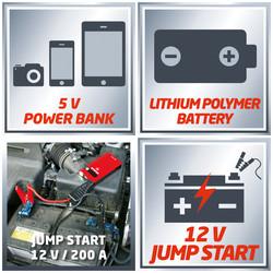 Einhell CC JS8 Jump Start Power Bank