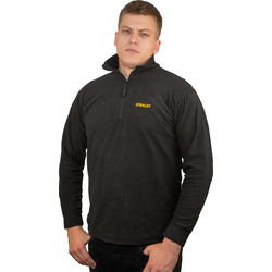 Stanley Stanley Memphis Micro Fleece X Large Black - 73268 - from Toolstation