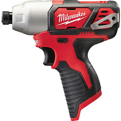 Milwaukee Milwaukee M12BID-0 12V Li-Ion Cordless Compact Impact Driver Body Only - 73290 - from Toolstation