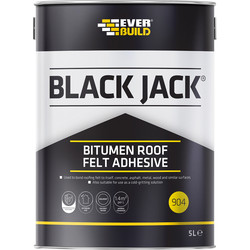 Everbuild Roofing Felt Adhesive 5L - 73292 - from Toolstation