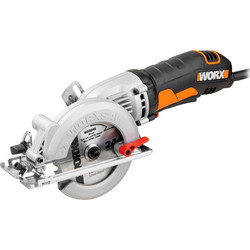 Worx Worx WX429 400W 120mm Compact Circular Saw 240V - 73422 - from Toolstation