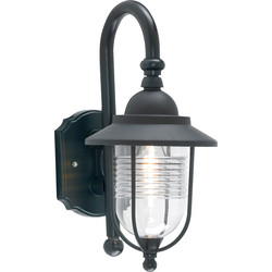 Zinc Fishermans Lantern Black - 73432 - from Toolstation