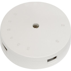 Axiom Junction Box 20A 4 Terminal White