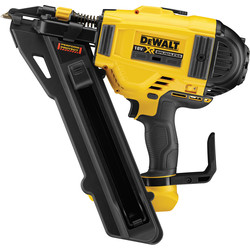 DeWalt DeWalt DCN694N-XJ 18V XR Positive Placement Metal Connector Nailer Body Only - 73539 - from Toolstation