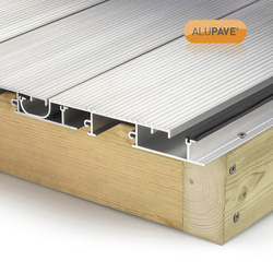 Alupave Alupave Fireproof Full-Seal Flat Roof & Decking Board Mill 2m - 73559 - from Toolstation