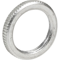 Deta Deta Metal Milled Edge Lockring ZP 20mm - 73587 - from Toolstation
