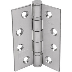 Certifire Grade 13 Ball Bearing Fire Door Hinge Satin Finish - 73733 - from Toolstation