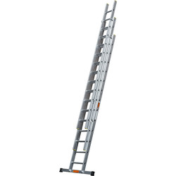 TB Davies TB Davies Pro Trade Triple Extension Ladder 3.5m - 73792 - from Toolstation