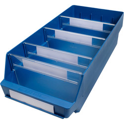 Barton Blue Shelf Bin 500 x 240 x 150mm - 73839 - from Toolstation