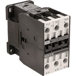 IMO IMO 3 Pole Contactor 24A 11kW 230V Coil - 73878 - from Toolstation