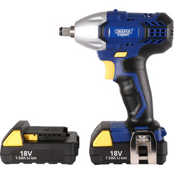 Draper Expert Draper Expert 83995 18V Li-Ion Cordless Impact Wrench 2 x 1.5Ah - 73900 - from Toolstation