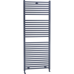 Cassellie Lindley Straight Designer Radiator 1420 x 500mm Anthracite 2887Btu - 73978 - from Toolstation