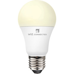 4lite WiZ 4lite WiZ LED A60 Smart Bulb Wi-Fi 9W ES 806lm - 74038 - from Toolstation