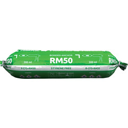 Rawlplug Rawlplug R-CFS+ RM50 Polyester Styrene Free Resin 300ml - 74077 - from Toolstation