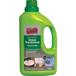 Barrettine Knock-out Biological Drain Treatment 1L - 74134 - from Toolstation