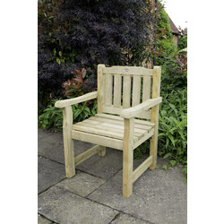 Forest Forest Garden Rosedene Chair 90cm (h) x 64cm (w) x 60cm (d) - 74192 - from Toolstation