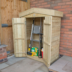 Forest Forest Garden Pressure Treated Overlap Garden Store Apex - 74274 - from Toolstation