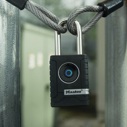 Bluetooth Smart Zinc Body Padlock