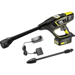 Karcher Karcher KHB 5 Multi-Jet Cordless Handheld Pressure Washer 18V 1 x 2.6Ah - 74331 - from Toolstation