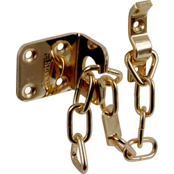 Sterling Sterling Heavy Duty Door Chain Brass Plated - 74448 - from Toolstation