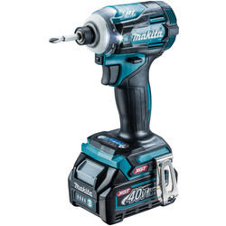 Makita Makita XGT 40V Max Brushless Impact Driver 1 x 2.5Ah - 74460 - from Toolstation