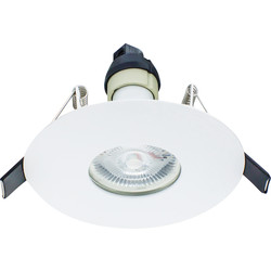 Integral LED Integral LED 70-100mm Cut Out Evofire IP65 Fire Rated Downlight White - 74500 - from Toolstation