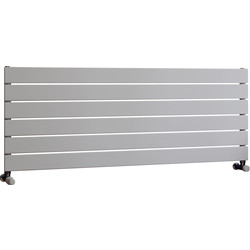 Ximax Ximax Oxford Single Horizontal Designer Radiator 445 x 1200mm 1946Btu White - 74529 - from Toolstation